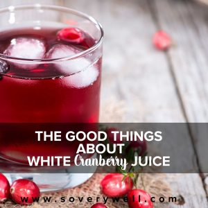 white cranberry juice